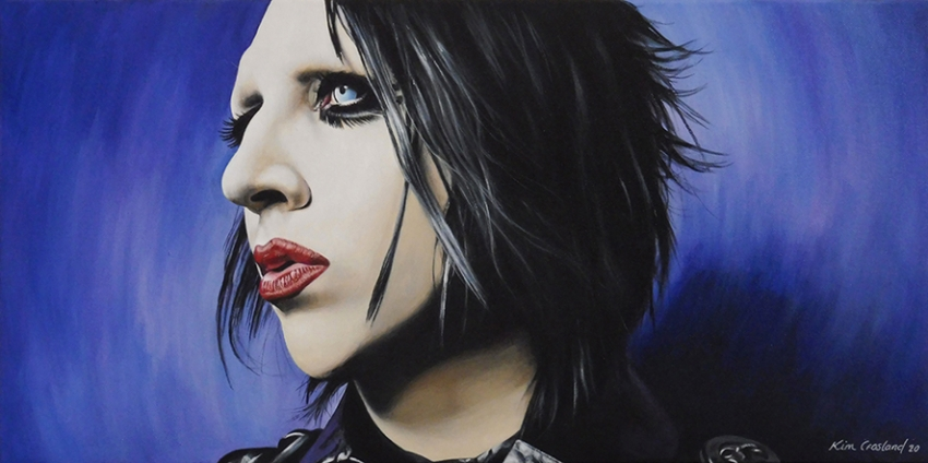 Marilyn Manson by chaosart